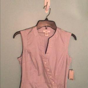 barIII pinstriped dress